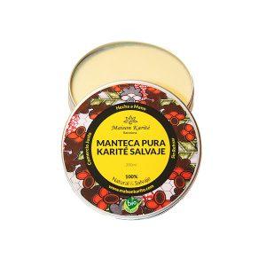 Manteca de karité Manteca pura de karité salvaje - Dame Jabón